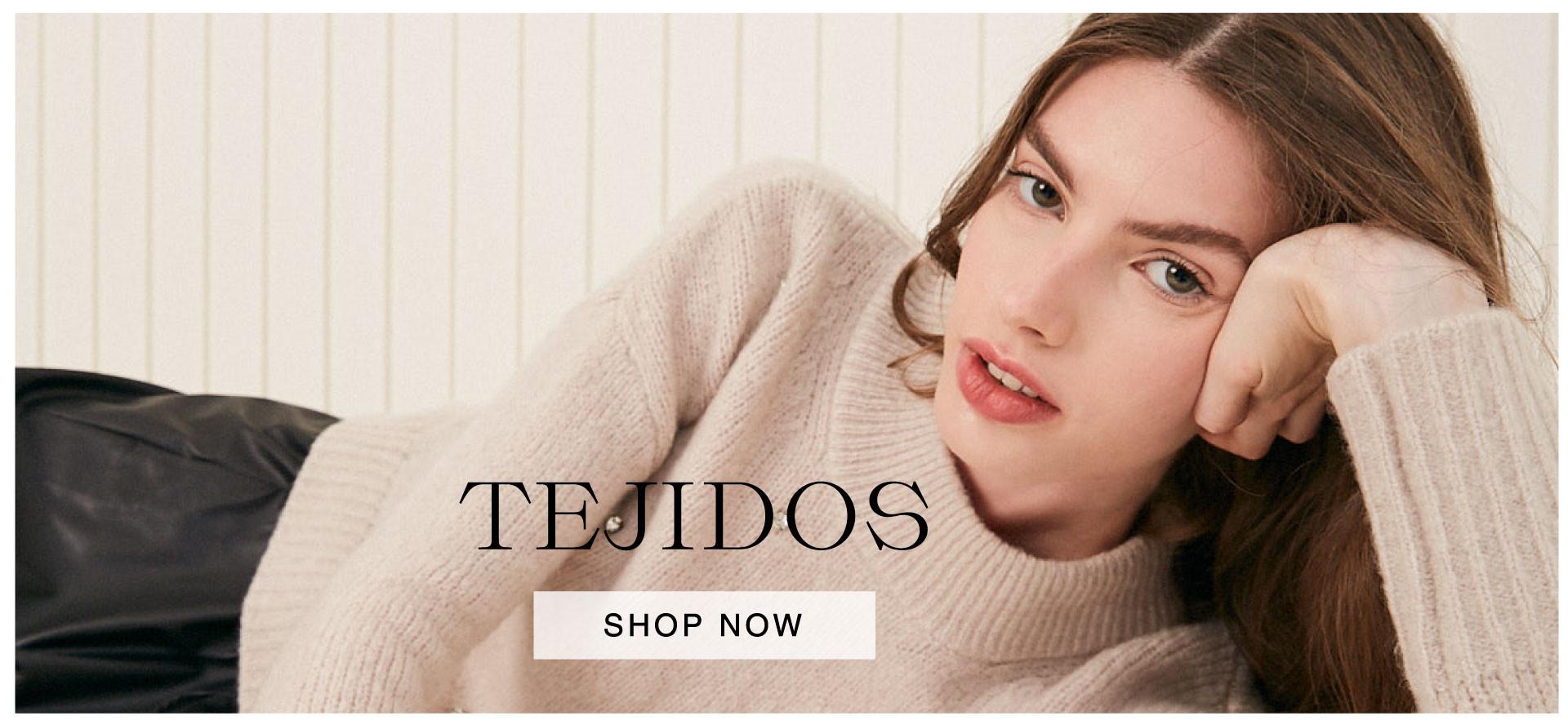 Tejidos - HomePage Desktop